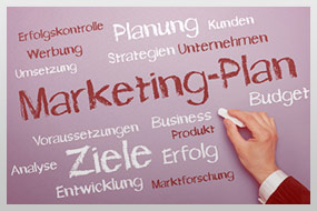 Online Marketing Konzeption, Online Marketing Plan